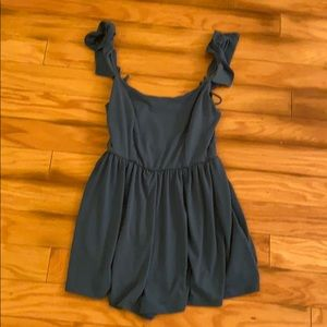 Urban outfitters blue long sleeveless top